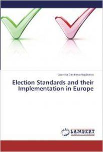 Election standards... Dimitrieva book