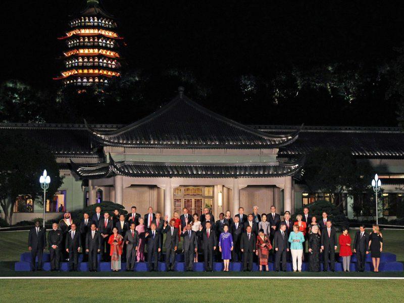 G20, family photo