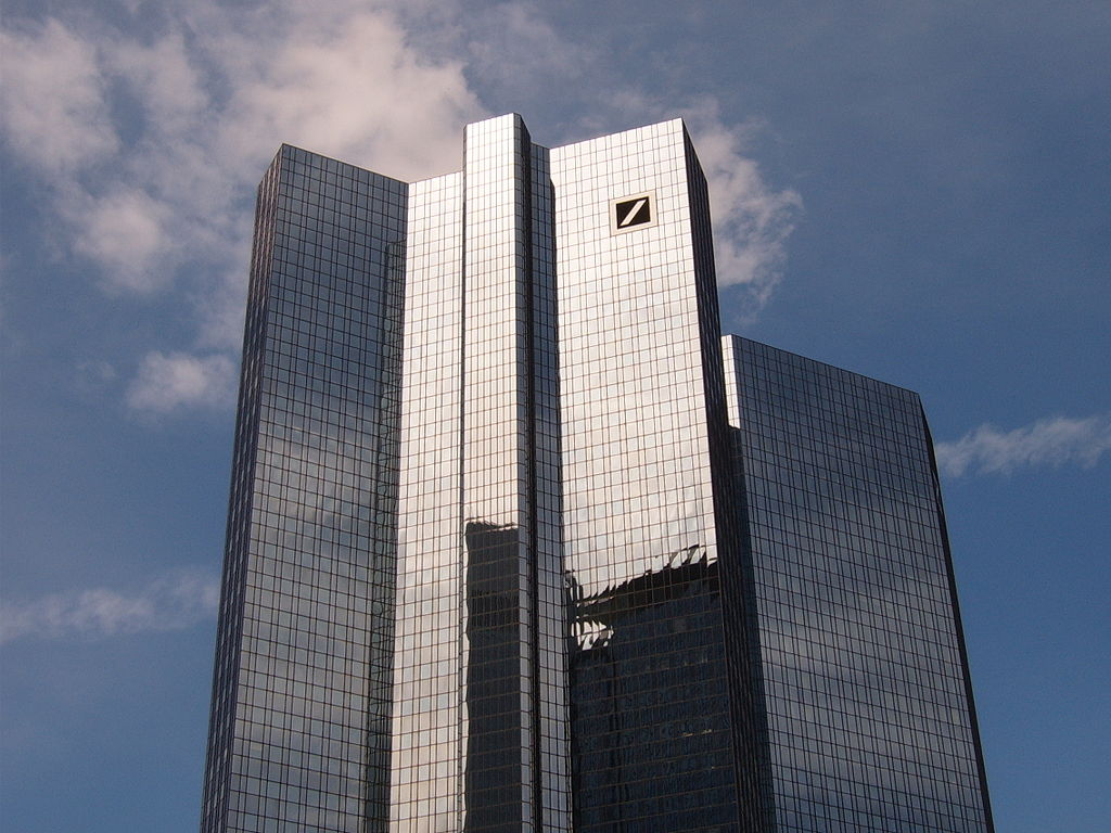 Deutsche Bank Twin Towers, Frankfurt am Main (Germany)