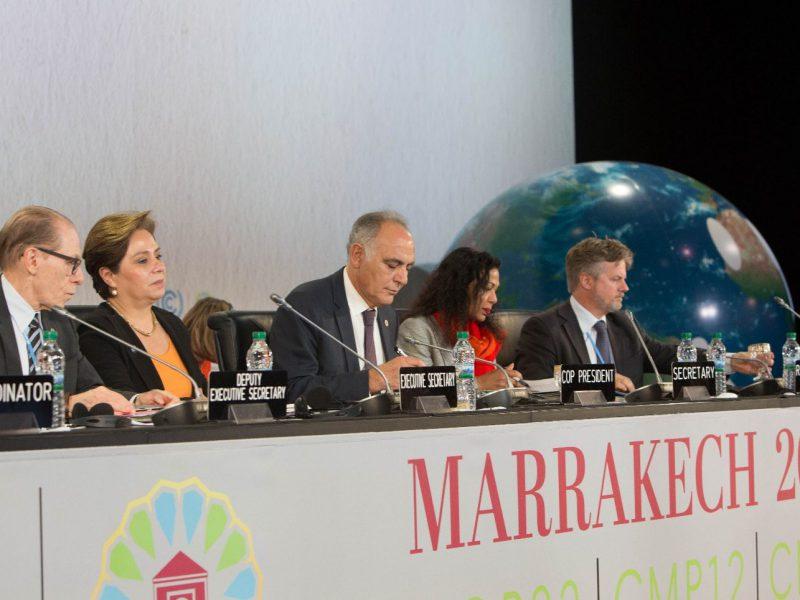 Marrakech Action proclamation
