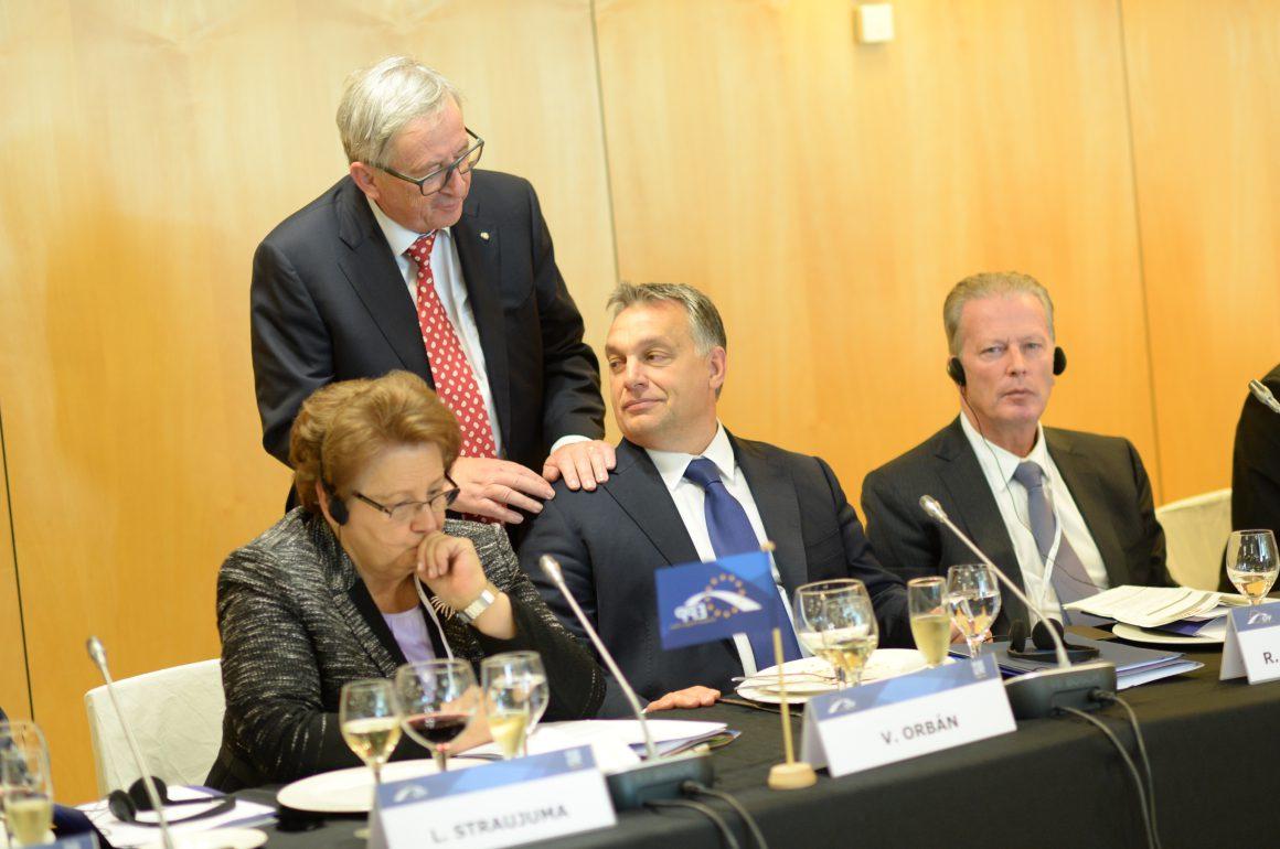 Juncker and Orbán, 2015