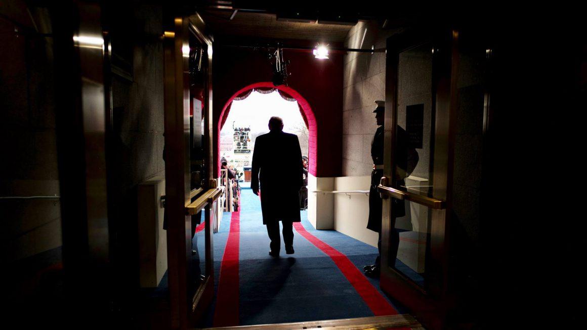 Donald Trump preparing to be sworn in as President