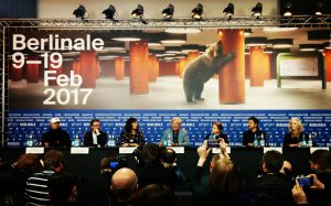 Berlinale's internation jury in press conference
