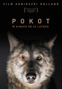 Film poster promoting Spoor in Poland