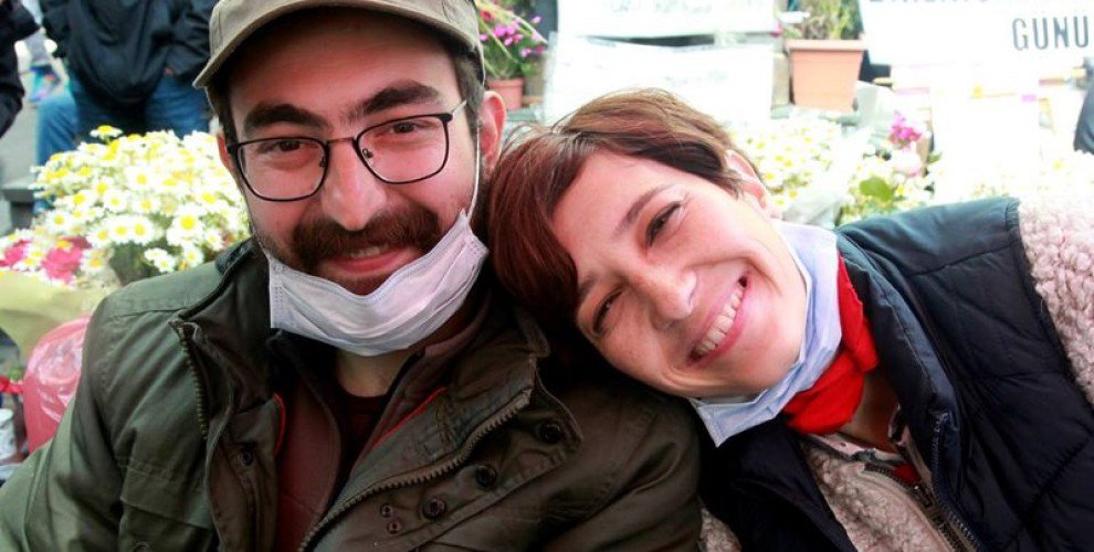 Semih Özakça and Nuriye Gülmen