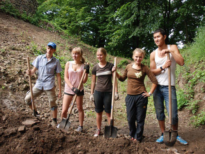 Young volunteers in 2011