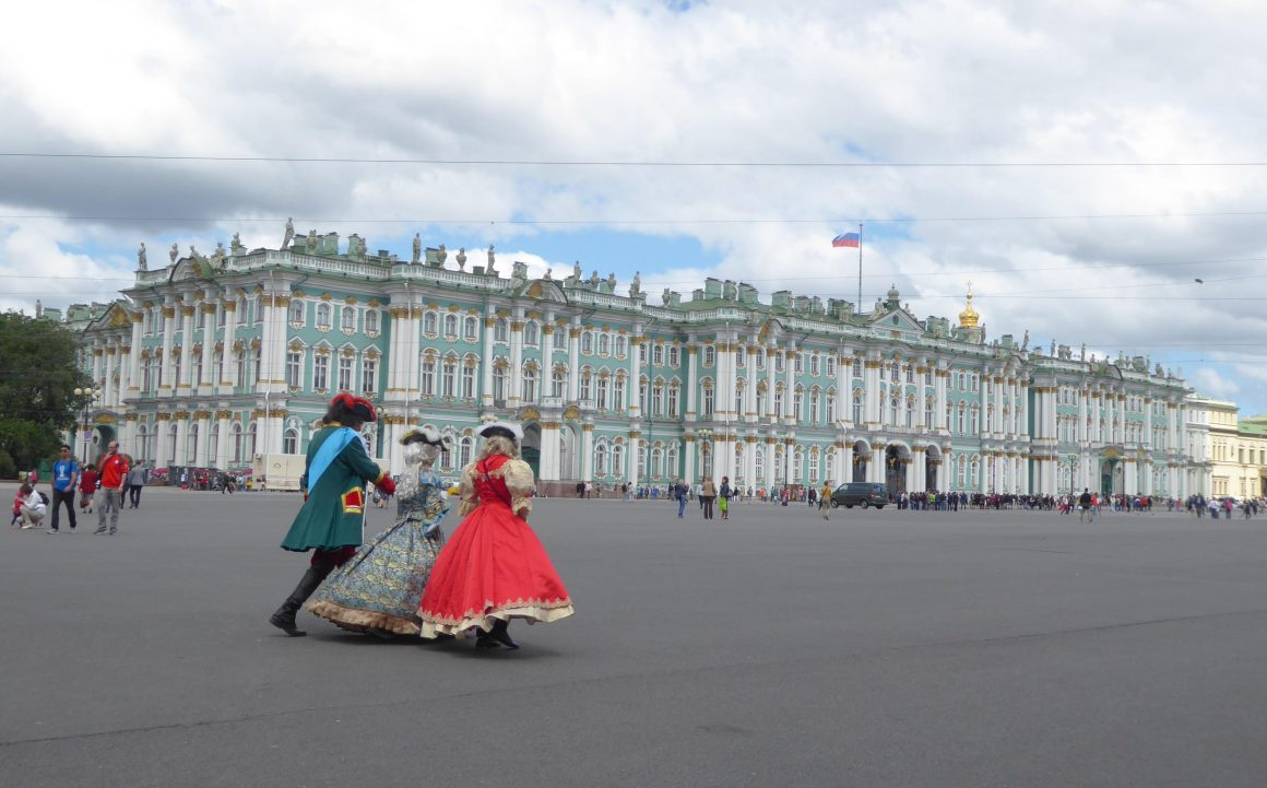 Hermitage in St Petersburg