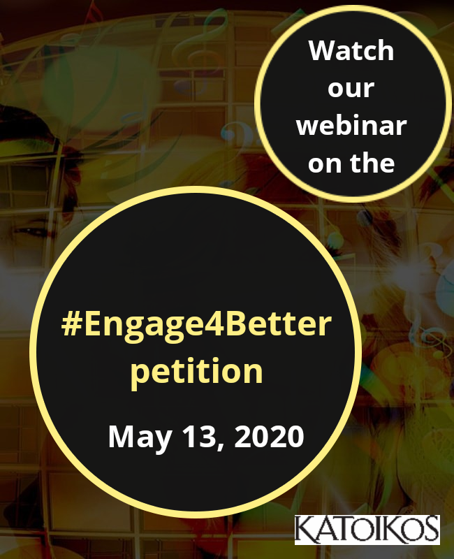Webinar on the #Engage4Better petition
