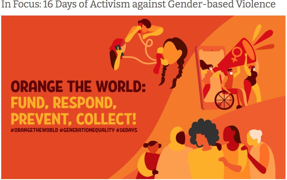 Orange the World - 16 Days of Activism
