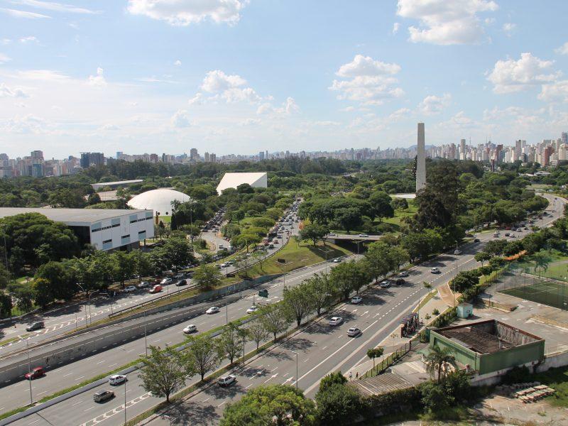 View Over Brazilian City